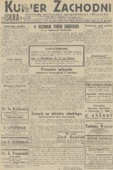 Kurjer Zachodni Iskra : dziennik polityczny, gospodarczy i literacki. R.22, 1931, nr205