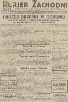 Kurjer Zachodni Iskra : dziennik polityczny, gospodarczy i literacki. R.22, 1931, nr211