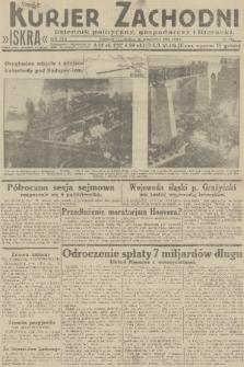 Kurjer Zachodni Iskra : dziennik polityczny, gospodarczy i literacki. R.22, 1931, nr213