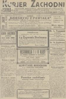 Kurjer Zachodni Iskra : dziennik polityczny, gospodarczy i literacki. R.22, 1931, nr223