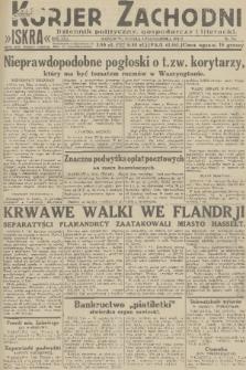 Kurjer Zachodni Iskra : dziennik polityczny, gospodarczy i literacki. R.22, 1931, nr230