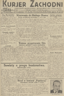 Kurjer Zachodni Iskra : dziennik polityczny, gospodarczy i literacki. R.22, 1931, nr231