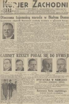 Kurjer Zachodni Iskra : dziennik polityczny, gospodarczy i literacki. R.22, 1931, nr232