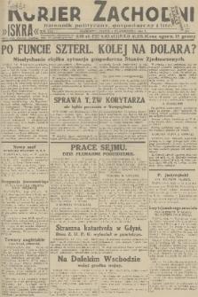 Kurjer Zachodni Iskra : dziennik polityczny, gospodarczy i literacki. R.22, 1931, nr233