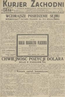 Kurjer Zachodni Iskra : dziennik polityczny, gospodarczy i literacki. R.22, 1931, nr234