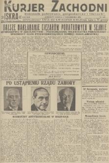 Kurjer Zachodni Iskra : dziennik polityczny, gospodarczy i literacki. R.22, 1931, nr240