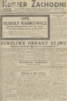 Kurjer Zachodni Iskra : dziennik polityczny, gospodarczy i literacki. R.22, 1931, nr243