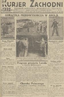 Kurjer Zachodni Iskra : dziennik polityczny, gospodarczy i literacki. R.22, 1931, nr244