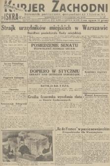 Kurjer Zachodni Iskra : dziennik polityczny, gospodarczy i literacki. R.22, 1931, nr245