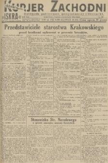 Kurjer Zachodni Iskra : dziennik polityczny, gospodarczy i literacki. R.22, 1931, nr257