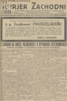 Kurjer Zachodni Iskra : dziennik polityczny, gospodarczy i literacki. R.22, 1931, nr261 [po konfiskacie]