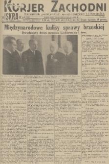 Kurjer Zachodni Iskra : dziennik polityczny, gospodarczy i literacki. R.22, 1931, nr267