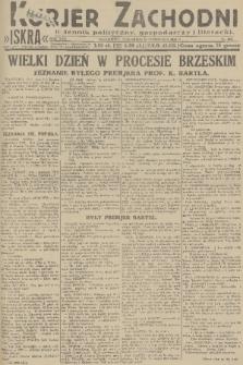Kurjer Zachodni Iskra : dziennik polityczny, gospodarczy i literacki. R.22, 1931, nr268