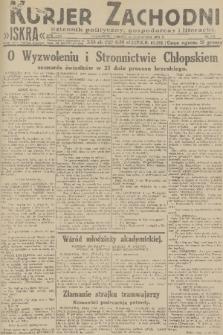 Kurjer Zachodni Iskra : dziennik polityczny, gospodarczy i literacki. R.22, 1931, nr270