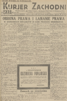 Kurjer Zachodni Iskra : dziennik polityczny, gospodarczy i literacki. R.22, 1931, nr 275 [po konfiskacie]