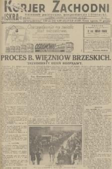 Kurjer Zachodni Iskra : dziennik polityczny, gospodarczy i literacki. R.22, 1931, nr277