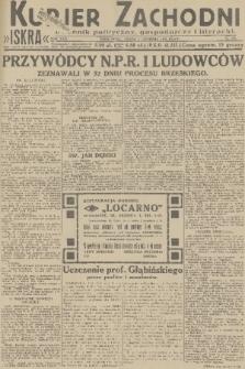 Kurjer Zachodni Iskra : dziennik polityczny, gospodarczy i literacki. R.22, 1931, nr279