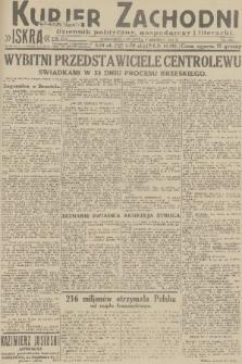 Kurjer Zachodni Iskra : dziennik polityczny, gospodarczy i literacki. R.22, 1931, nr280