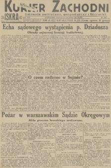 Kurjer Zachodni Iskra : dziennik polityczny, gospodarczy i literacki. R.22, 1931, nr293
