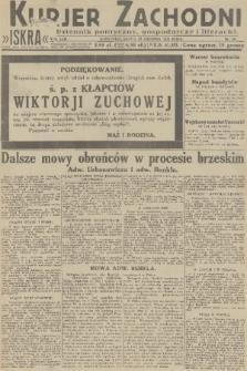 Kurjer Zachodni Iskra : dziennik polityczny, gospodarczy i literacki. R.22, 1931, nr296