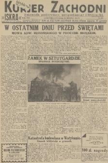 Kurjer Zachodni Iskra : dziennik polityczny, gospodarczy i literacki. R.22, 1931, nr297