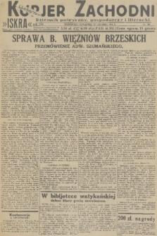 Kurjer Zachodni Iskra : dziennik polityczny, gospodarczy i literacki. R.22, 1931, nr300