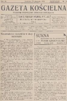 Gazeta Kościelna : tygodnik poświęcony sprawom kościelnym : organ stowarzyszeń kapłańskich w Polsce. R.40, 1933, nr5