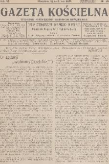 Gazeta Kościelna : tygodnik poświęcony sprawom kościelnym : organ stowarzyszeń kapłańskich w Polsce. R.40, 1933, nr16