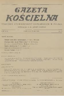 Gazeta Kościelna : tygodnik stowarzyszeń kapłańskich w Polsce. R.43, 1936, nr20