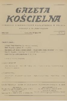 Gazeta Kościelna : tygodnik stowarzyszeń kapłańskich w Polsce. R.43, 1936, nr29
