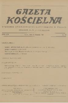 Gazeta Kościelna : tygodnik stowarzyszeń kapłańskich w Polsce. R.43, 1936, nr37
