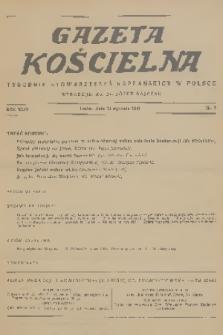 Gazeta Kościelna : tygodnik stowarzyszeń kapłańskich w Polsce. R.44, 1937, nr2