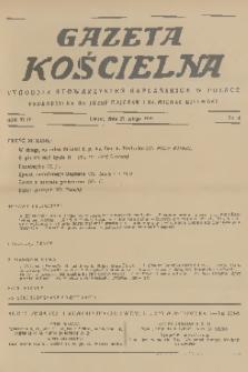 Gazeta Kościelna : tygodnik stowarzyszeń kapłańskich w Polsce. R.44, 1937, nr8