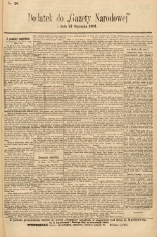 Gazeta Narodowa. 1901, nr28
