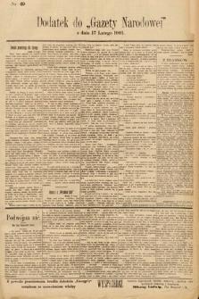 Gazeta Narodowa. 1901, nr49