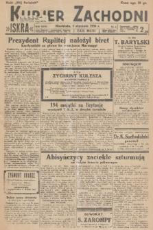 Kurjer Zachodni Iskra. R.27, 1936, nr5