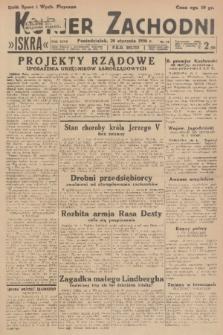 Kurjer Zachodni Iskra. R.27, 1936, nr19
