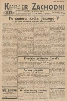 Kurjer Zachodni Iskra. R.27, 1936, nr22