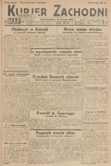 Kurjer Zachodni Iskra. R.27, 1936, nr54