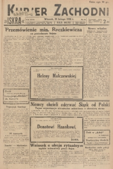 Kurjer Zachodni Iskra. R.27, 1936, nr55