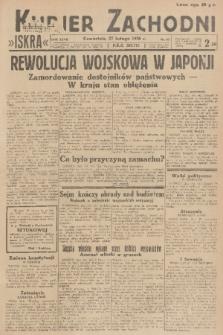 Kurjer Zachodni Iskra. R.27, 1936, nr57