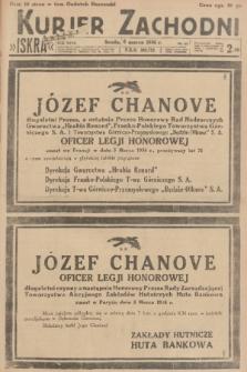 Kurjer Zachodni Iskra. R.27, 1936, nr63 + dod.