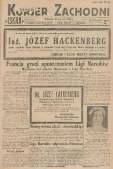 Kurjer Zachodni Iskra. R.27, 1936, nr76