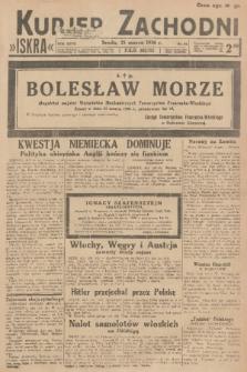 Kurjer Zachodni Iskra. R.27, 1936, nr84