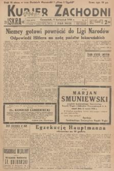 Kurjer Zachodni Iskra. R.27, 1936, nr92 + dod.