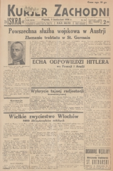 Kurjer Zachodni Iskra. R.27, 1936, nr93