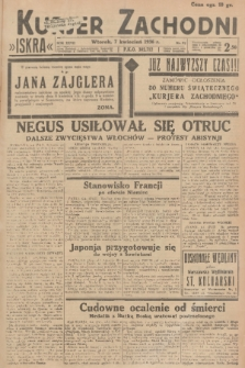 Kurjer Zachodni Iskra. R.27, 1936, nr97