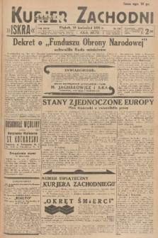 Kurjer Zachodni Iskra. R.27, 1936, nr100