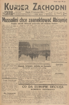 Kurjer Zachodni Iskra. R.27, 1936, nr105