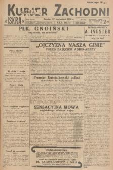 Kurjer Zachodni Iskra. R.27, 1936, nr110